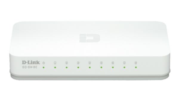 D-LINK GO-SW-8E  Megabitni switch