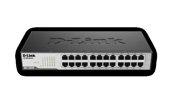 D-link DES-1024D, megabitni switch