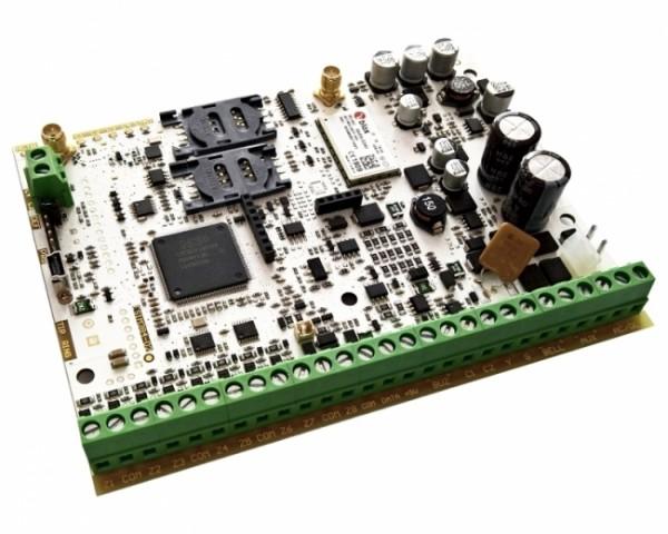 ESIM384-2GEU hibridna alarmna centrala do 144 zone