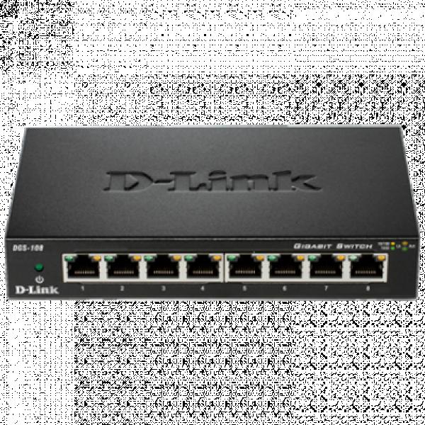 D-LINK DES-108 8 port