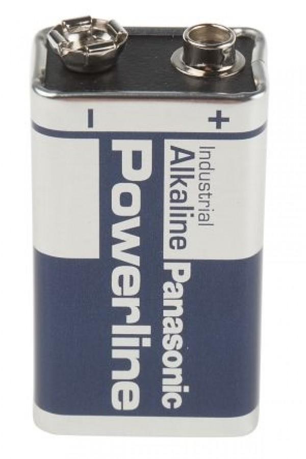 Alkalna baterija 9V 6LR61-Panasonic