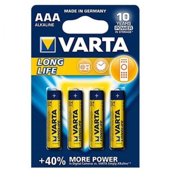 Alkalna baterija 1.5V AAA LR03- Varta