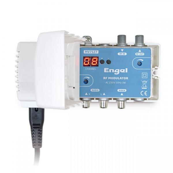 RF MODULATOR VHF+UHF