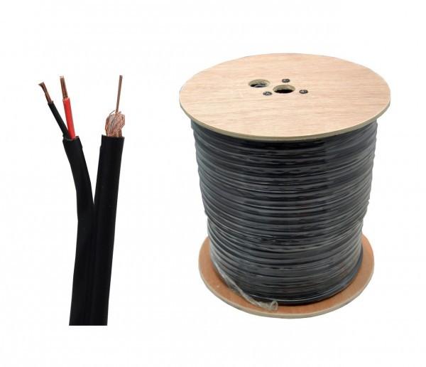 Kabli RG59+2x0.50 305m E1