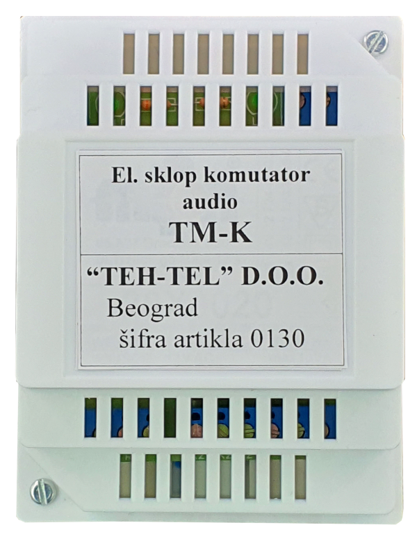 El.sklopka komutator audio TM-K
