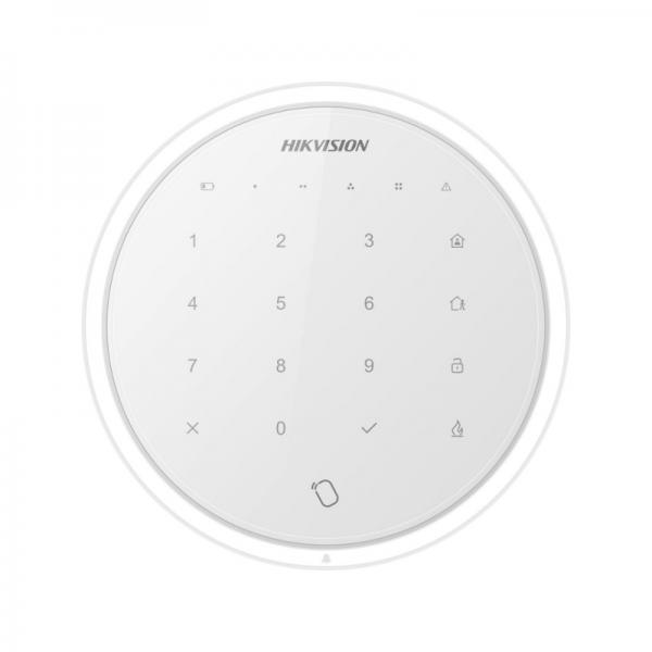 DS-PKA-WLM-433, Bezicna alarmna tastatura, bela