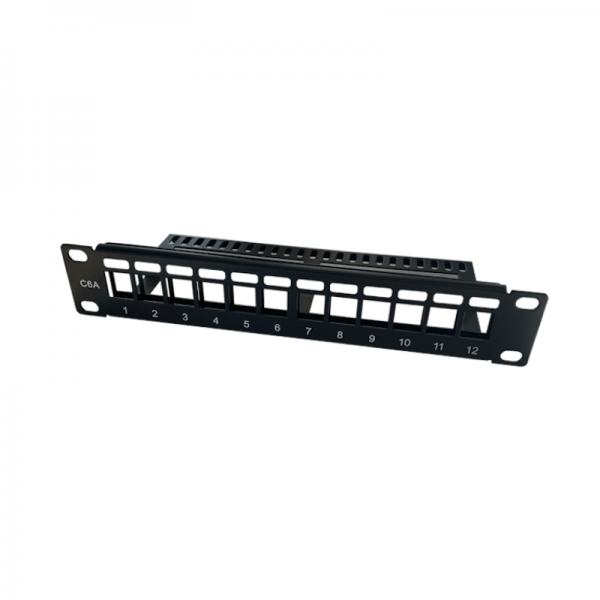 Ansec patch panel 10'' prazan